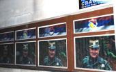 Фотографије генерала Младића на згради општине Источно Сарајево