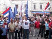 У Требињу одржан митинг подршке Младићу